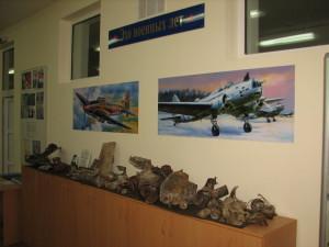 раздел экспозиции эхо военных лет
