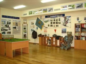 экспозиция музея раздел аэроклуба
